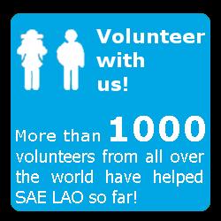 SAE LAO Project Volunteer Laos