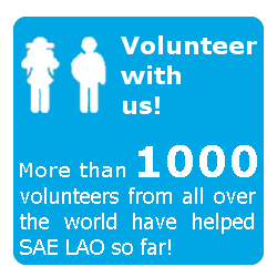 SAE LAO Project Volunteer Laos