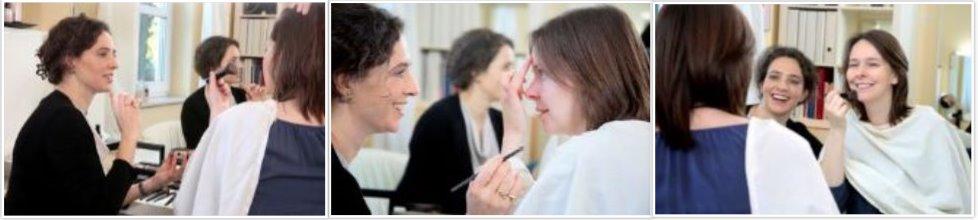 Charlotte Wilisch - Hautpflege und Make-up - Natürlich und frisch aussehen - Schritt für Schritt-Anleitung auch für Brillenträger - Vorträge | Seminare | Beratung