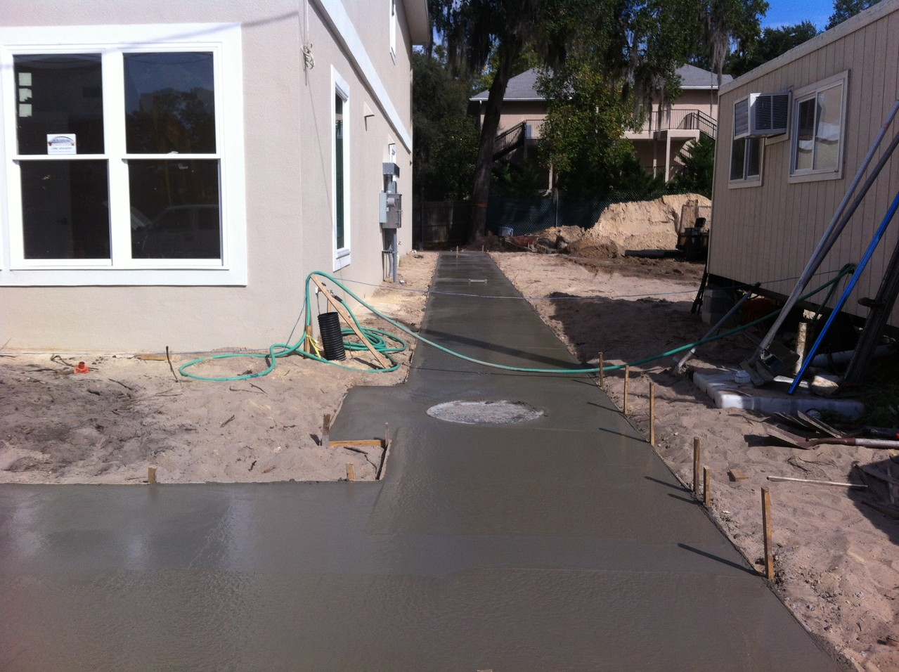 10.22.2012  Pouring Sidewalks