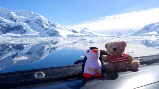 Eisberg-Cruising mit den taiwanesischen Freunden