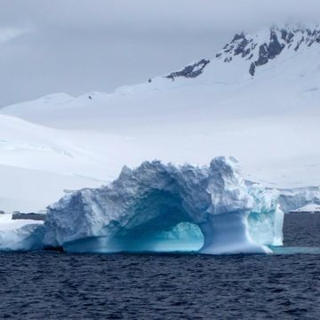 treibender Eisberg
