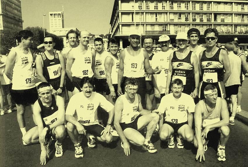 De gauche à droite, en bas: S.Reiden, JM. Santacreu, D. joncquet,    P. Merrant, M. Dial. en haut: JC. Roucan, L. Marie, Y. Biez,          T. Tougard, C. Joncquet, JC. Roméo, R. Lemoulec, A. Hamard,          J. Pénard, S. Vannier, Y. Pénard, C. Vannier.