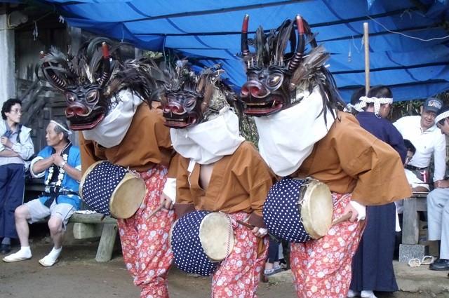 いわき市内郷高野・三匹獅子舞