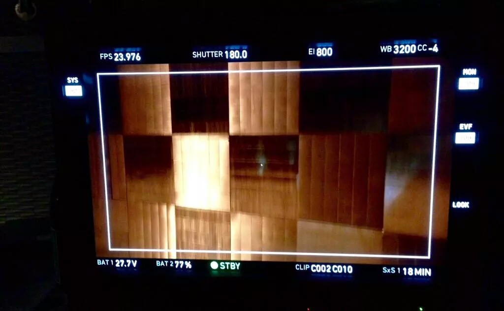 """""""Martini is up for #Castle 804! The shoot has been a dream thanks to this incredible cast and crew."""" (c)@chadgcreasey"""