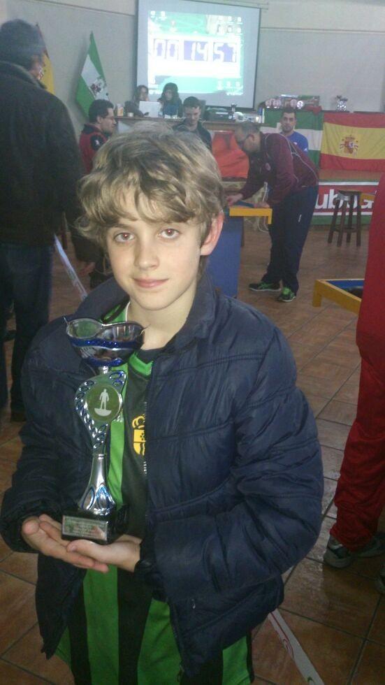 Kristian Sylagiev, nuevo Campeón de España Fútbol de Mesa 2014, en la categoría de SUB-12. ¡¡¡ENHORABUENA, CAMPEÓN!!!