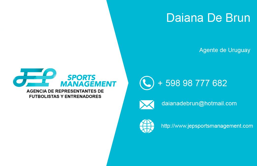 Daiana De Brun se incorpora como agente asociado de JEP Sports en Uruguay