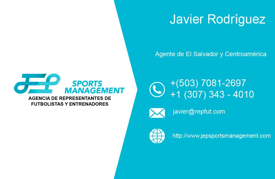 Javier Rodríguez León empieza las prácticas como agente asociado de JEP Sports