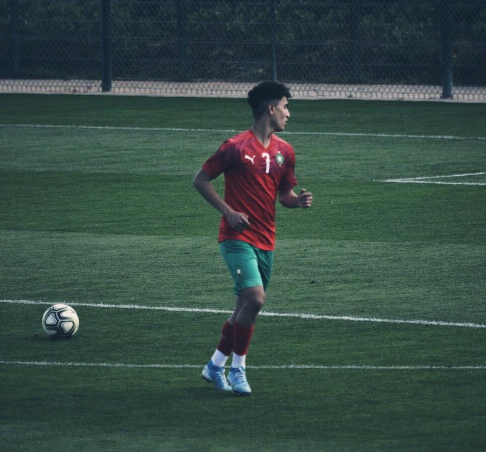 Younes Saifi ha terminado con nota en la concentración de la selección