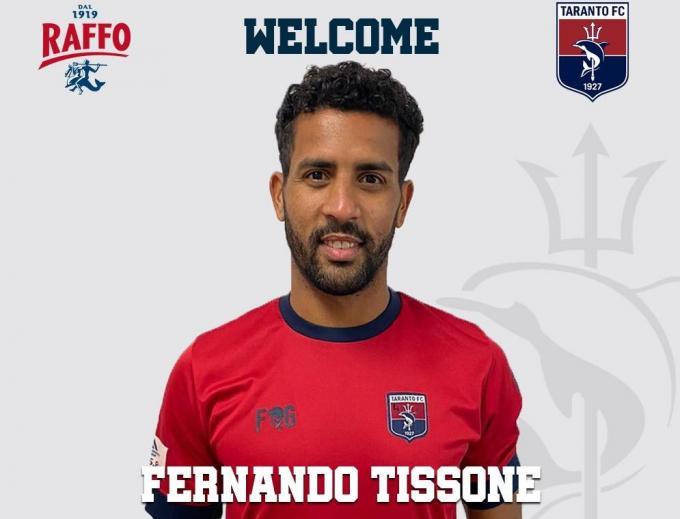 Fernando Tissone ficha por el Taranto FC