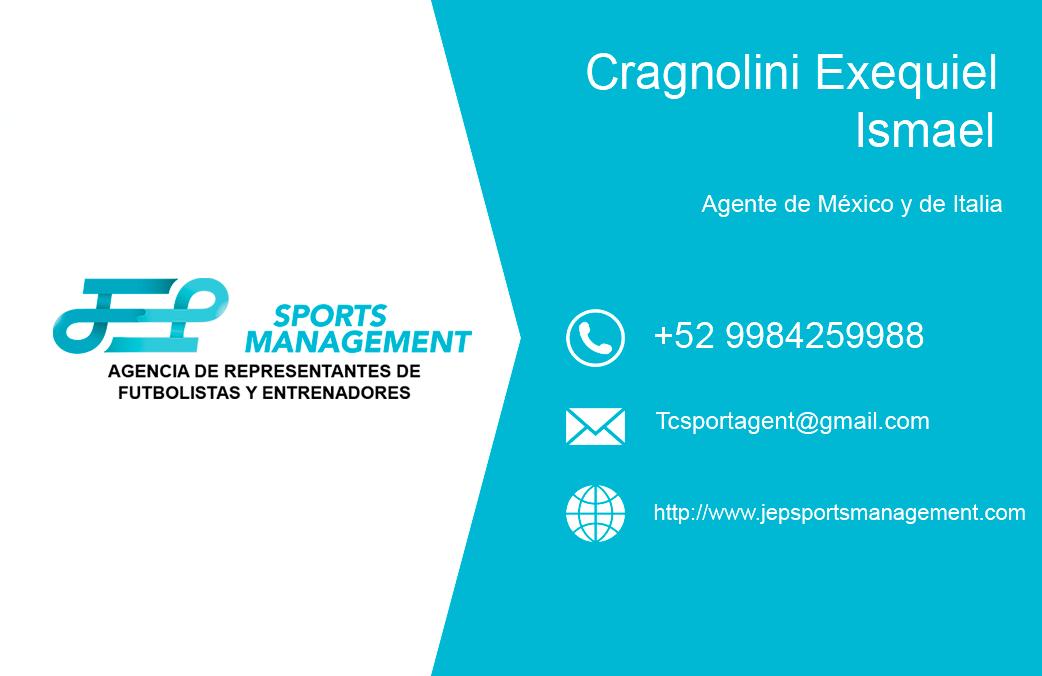 Exequiel Ismael Cragnolini entra como agente asociado en JEP Sports