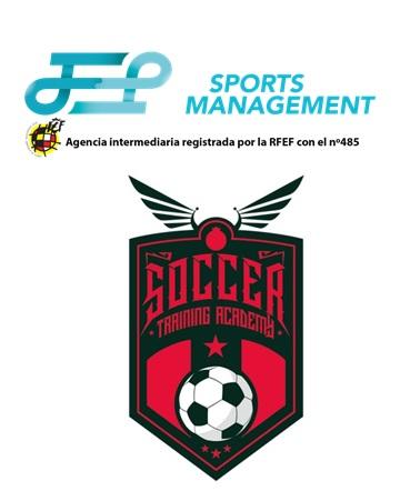 Acuerdo entre JEP Sports y Soccer Training Academy