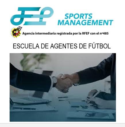 Curso online de agente de fútbol con prácticas