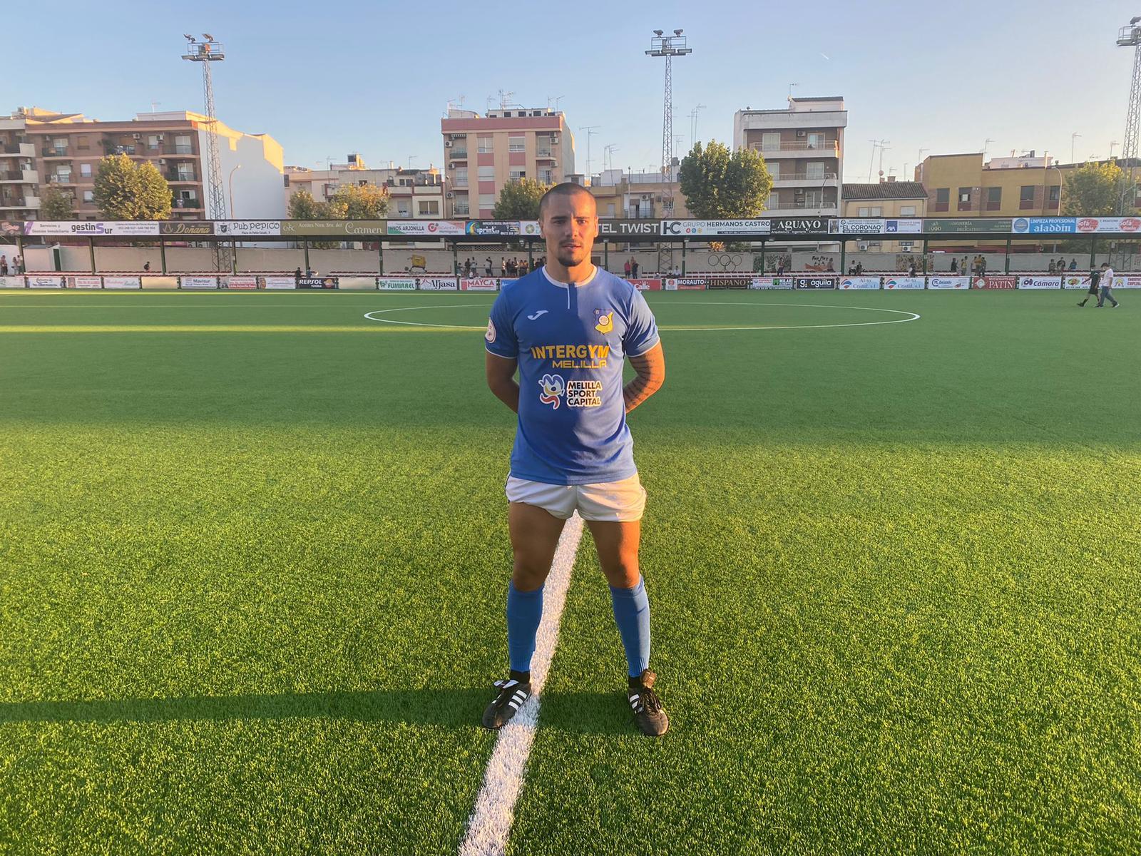 Yeison Alejandro debuta en la 3ª división con el Intergym