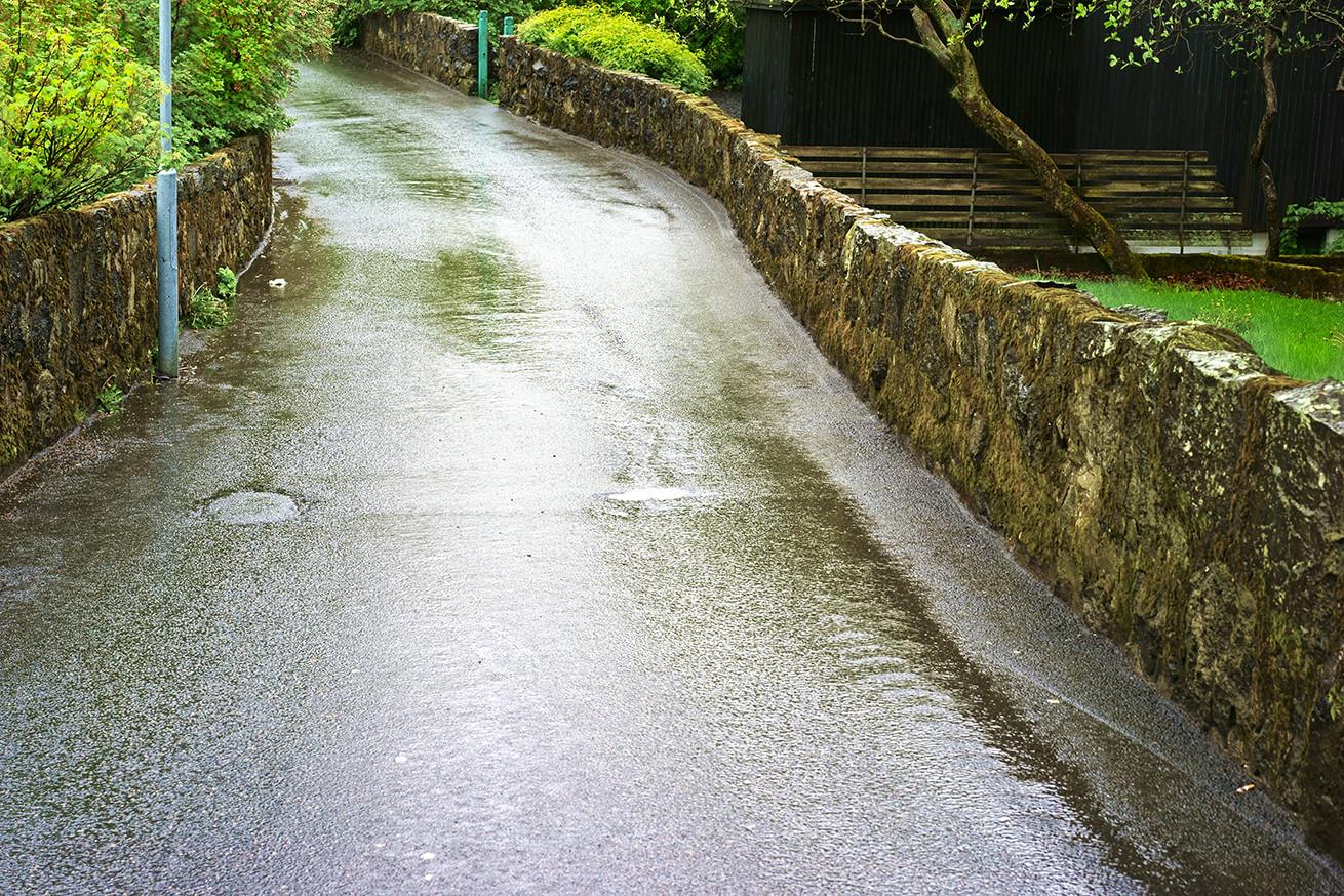 ja - es hat wirklich geregnet