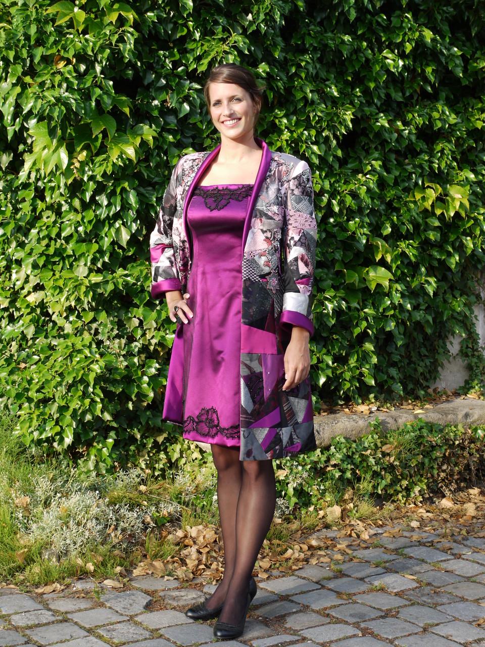 """Umsetzung in ein Modell von Frau Freier. Dieses Modell bekam die Auszeichnung die """"silberne Rose"""" 2010"""