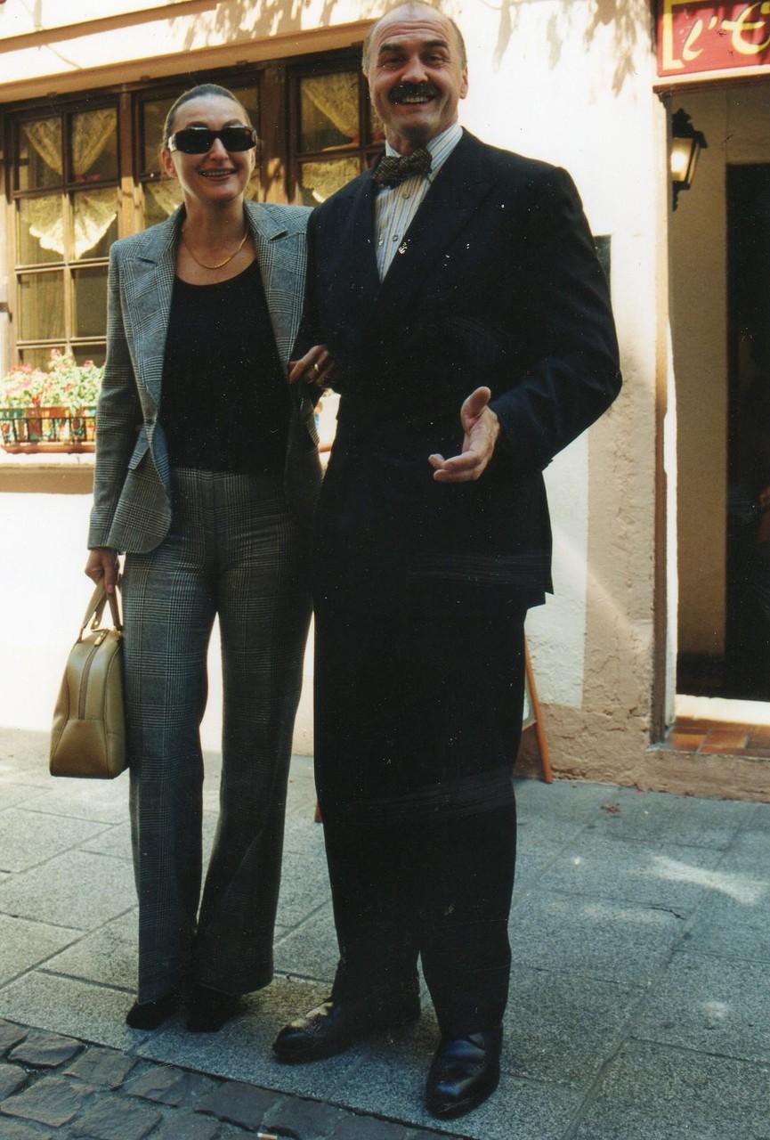Herr Zötl, ein Referent mit großem Marketingkonzept  - 2002 Strasbourg