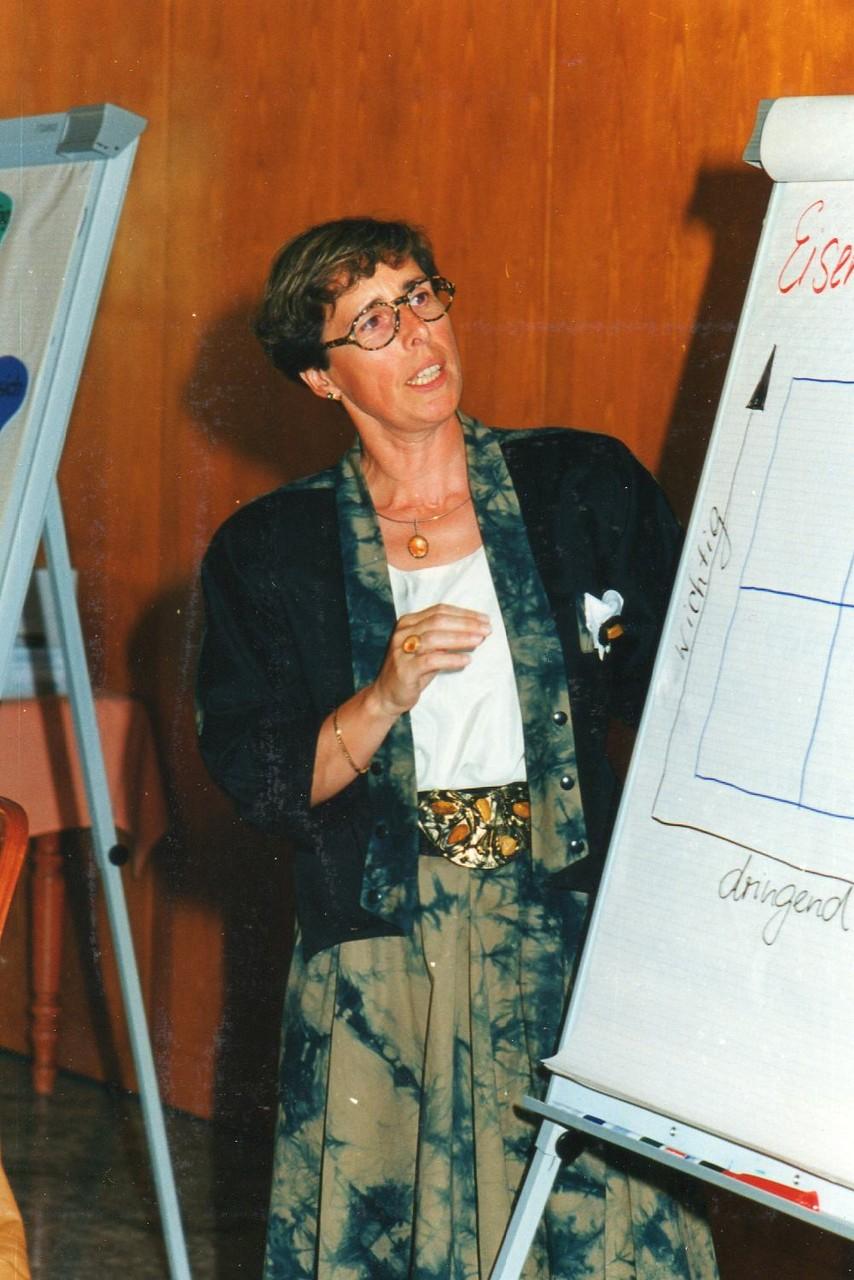 Referentin Margit Günzig - 1992 Freiburg