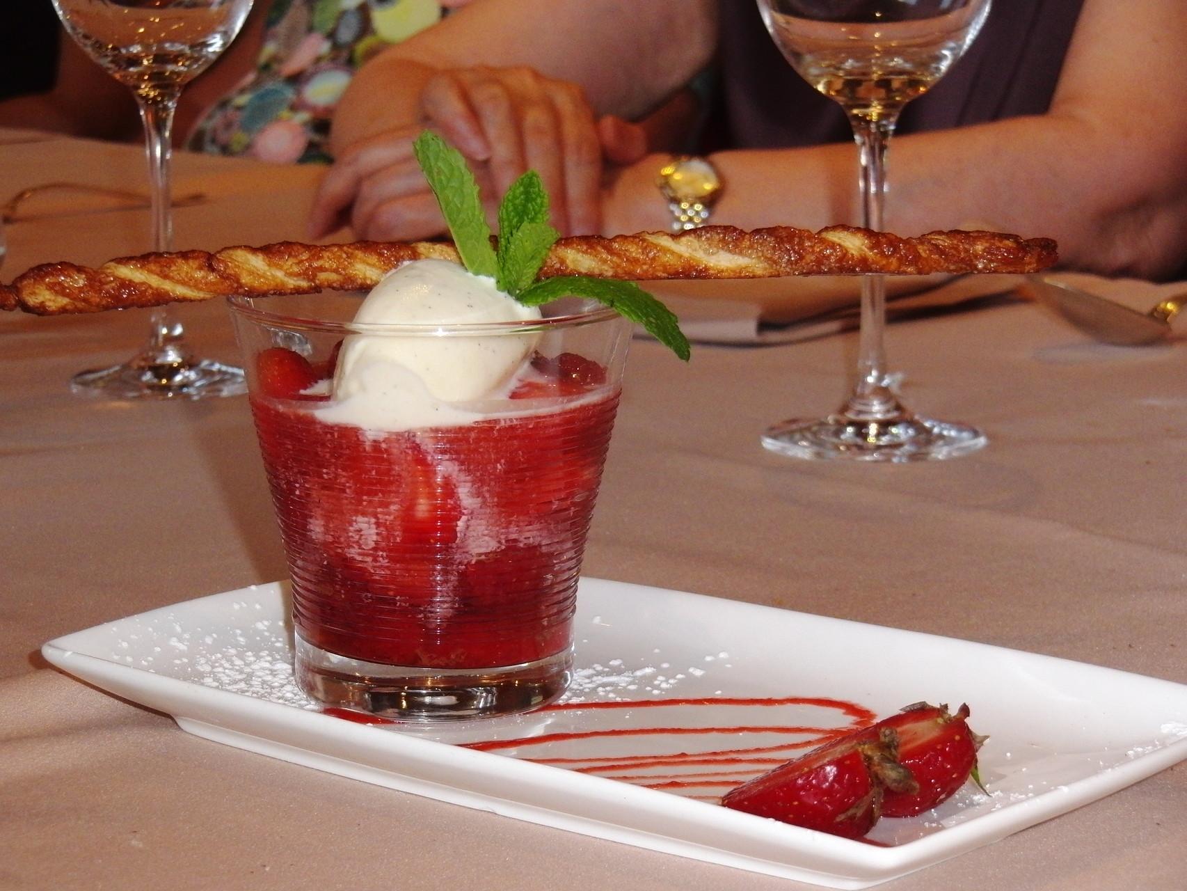 Das Dessert war ein Traum! 2012 Morsbronn-les-Bains