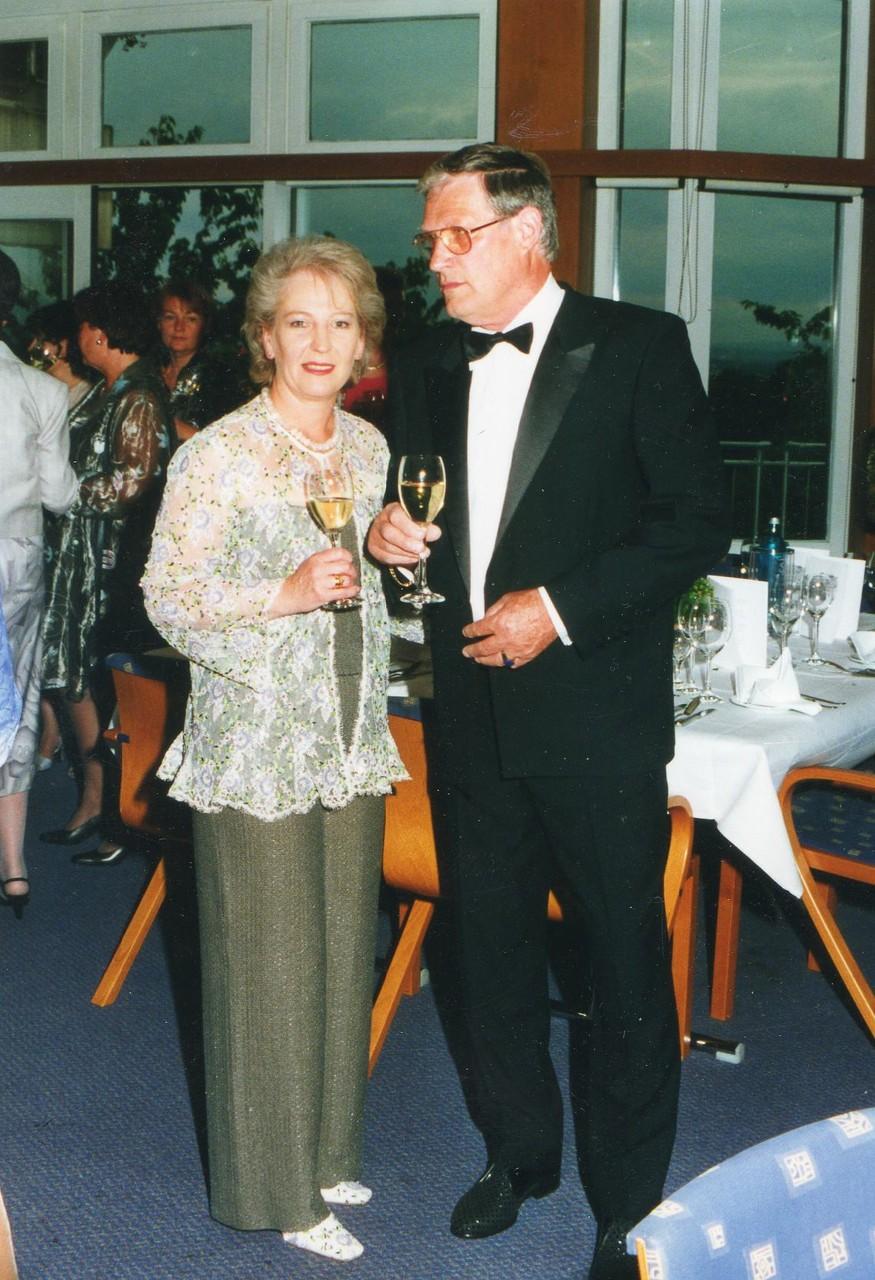 Frau Helga Freier und Herr Günther Freier