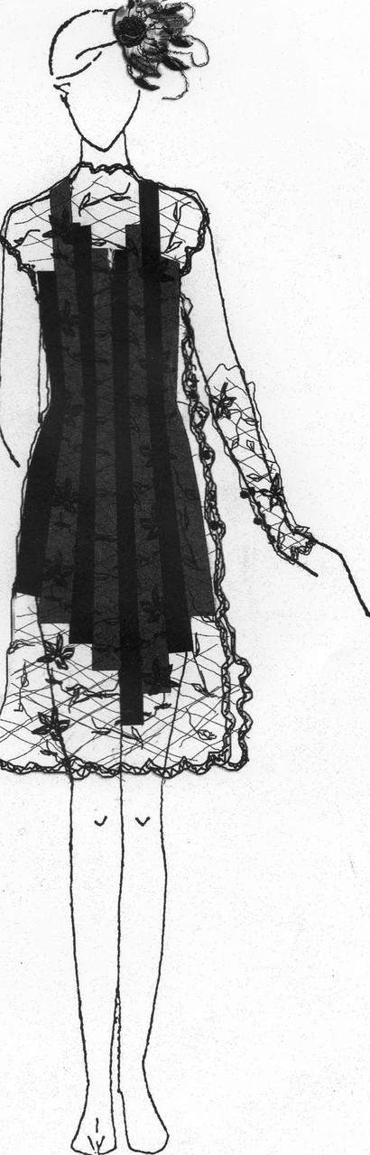 Skizze von Marthe Glasser