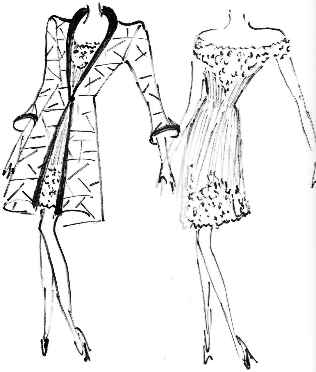 Skizze von Helga Freier