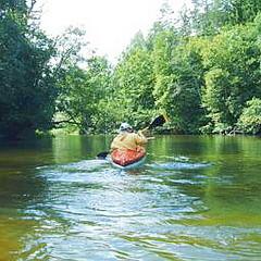 Krutynia - Kajaktour im Masur. Landschaftspark mit festem Hotel, Ermland und Masuren, Polen