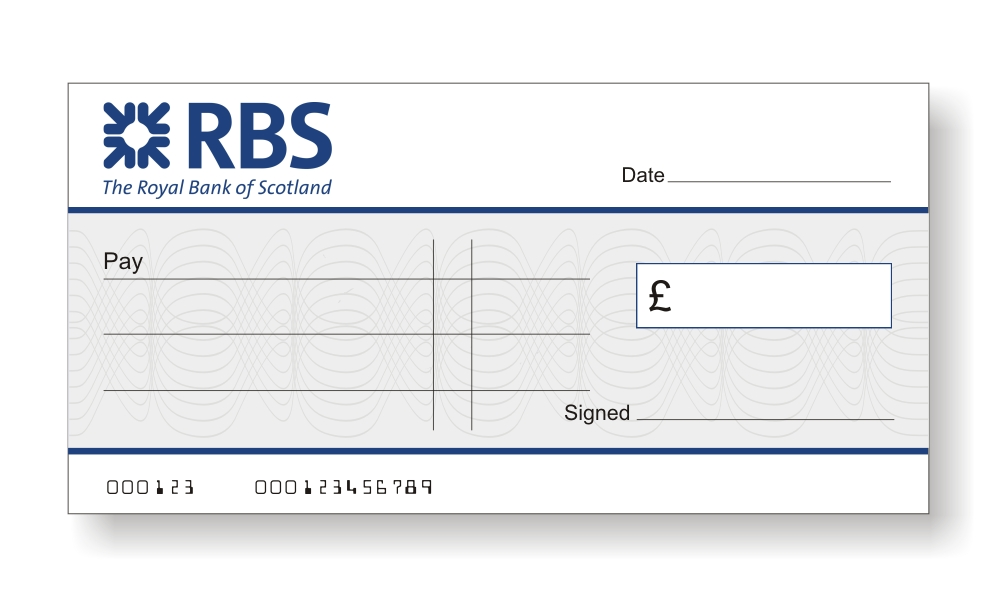 Bank Cheques The Home Of Big Presentation Cheques