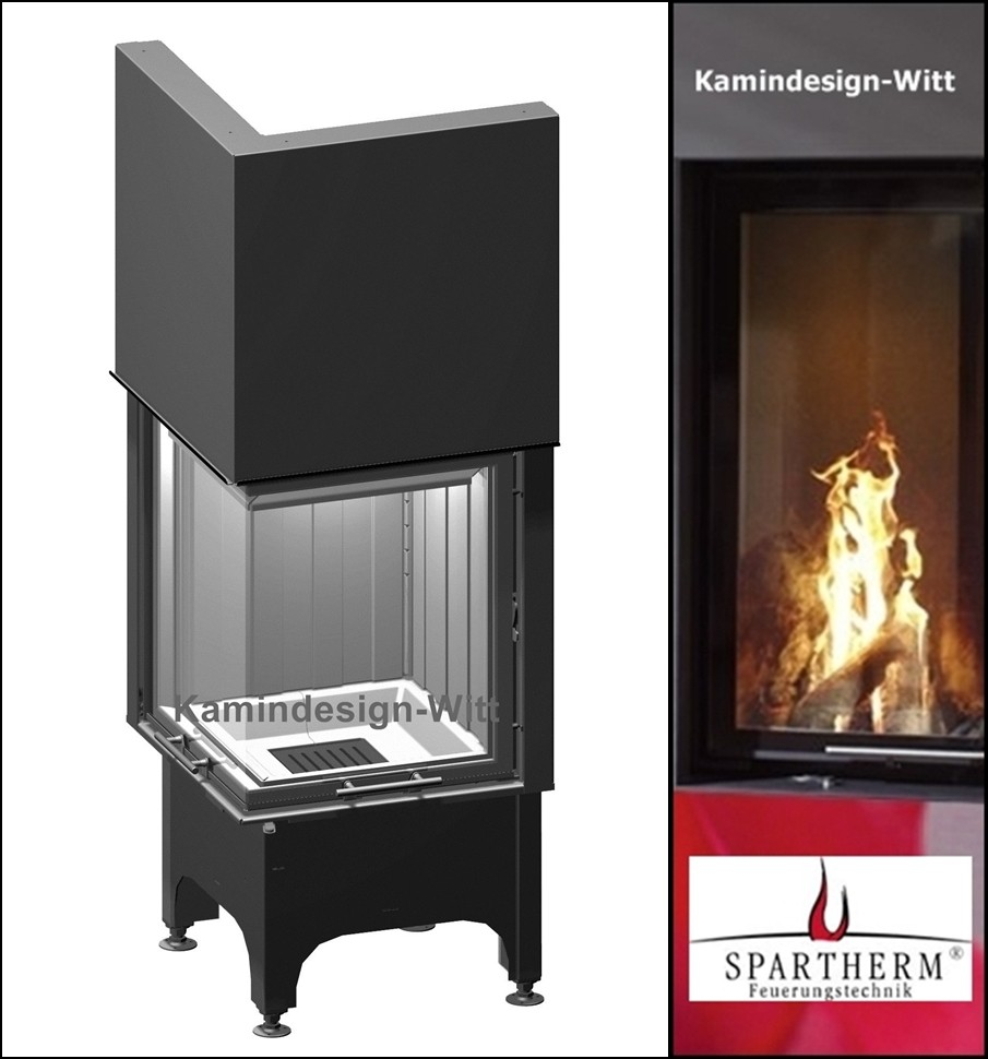 spartherm eckkamin kaminbau m hlhausen. Black Bedroom Furniture Sets. Home Design Ideas