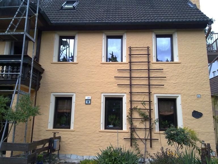 Fassade-Anstricherneuerung (danach)