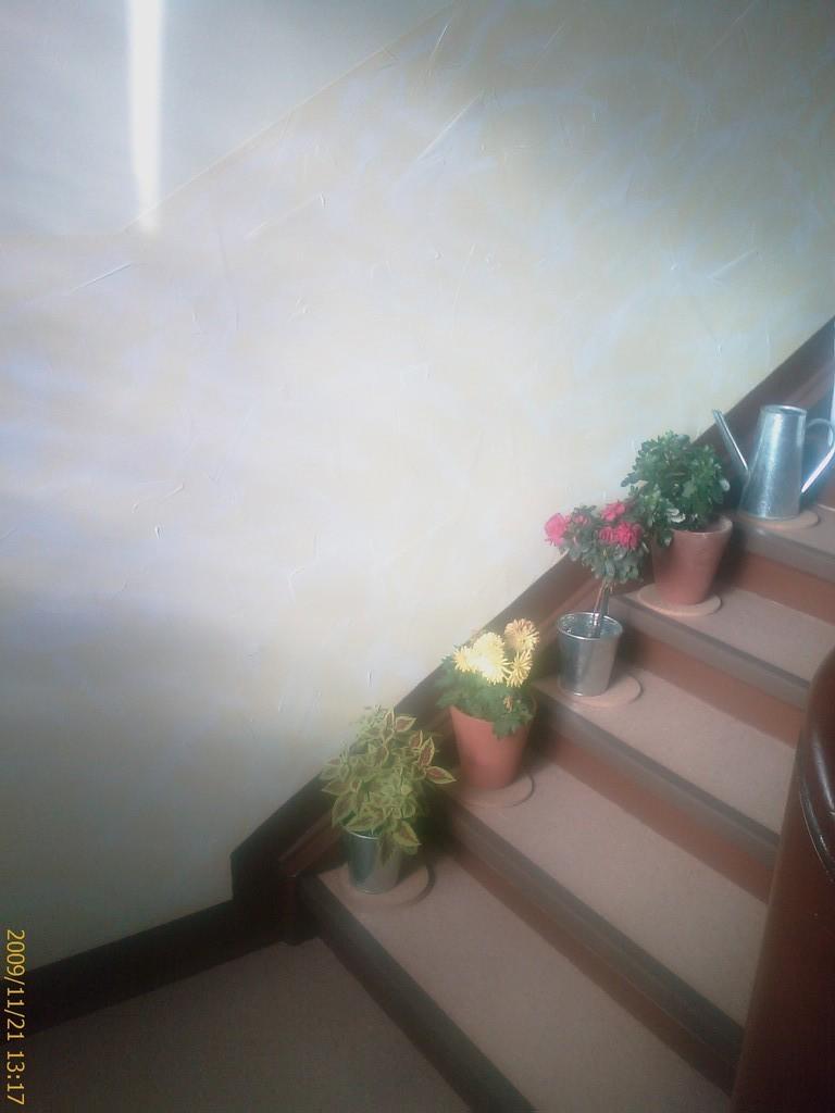 Neugestaltung einer alten Holztreppe