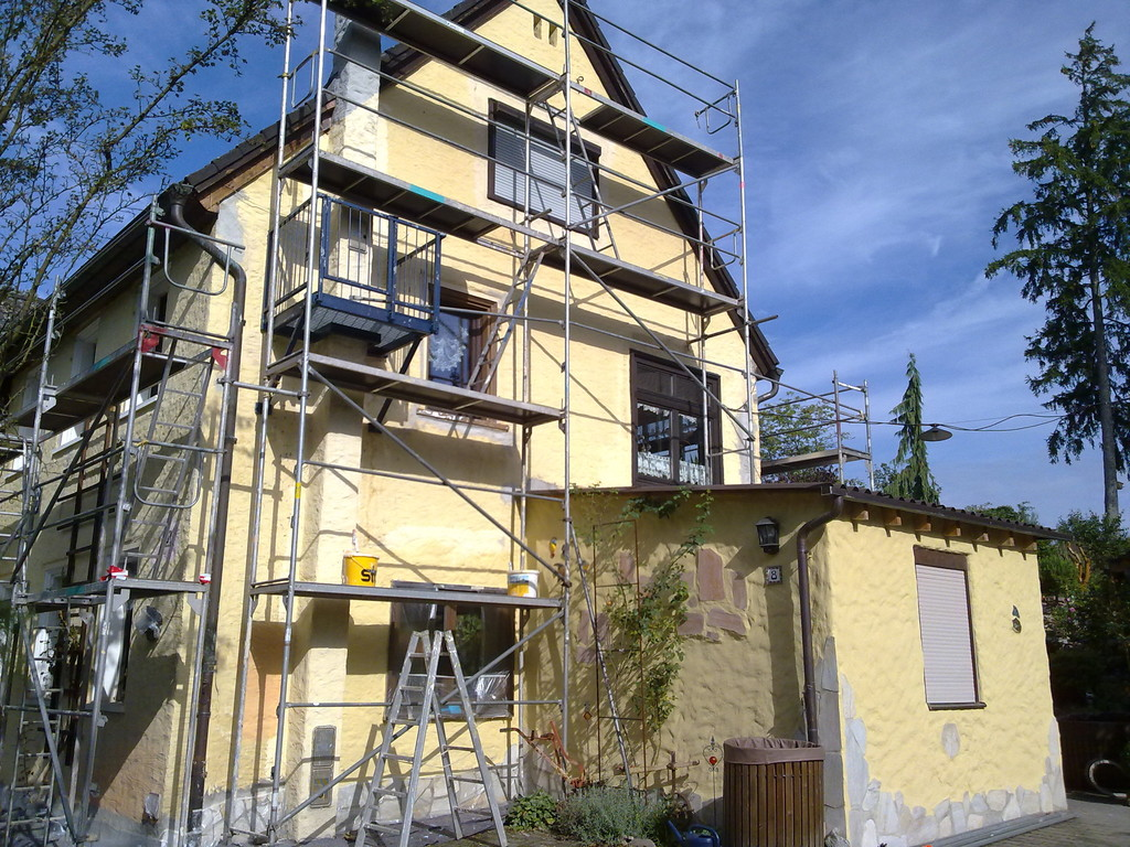 Fassade-Anstricherneuerung (davor)