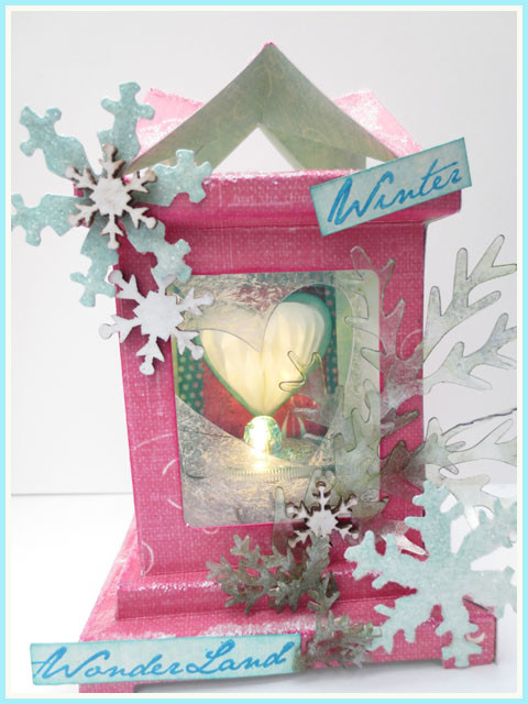 winterwonderland 3D luminary