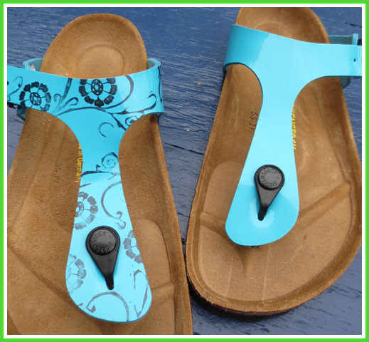 customized birkenstocks