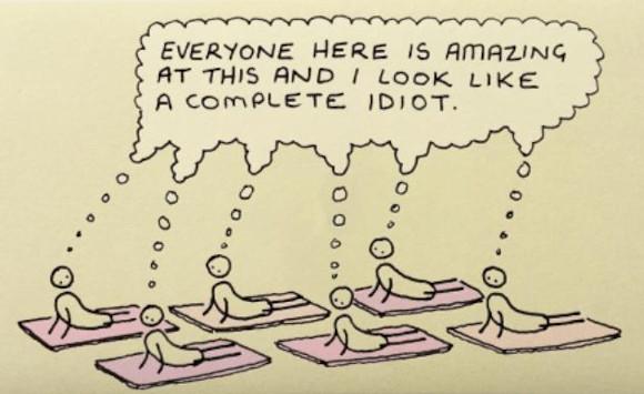 Selbstwahrnehmung Yoga