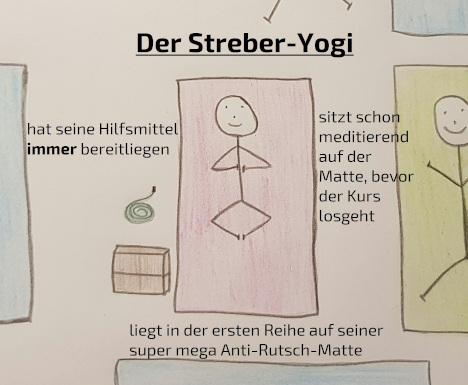 Streber-Yogi