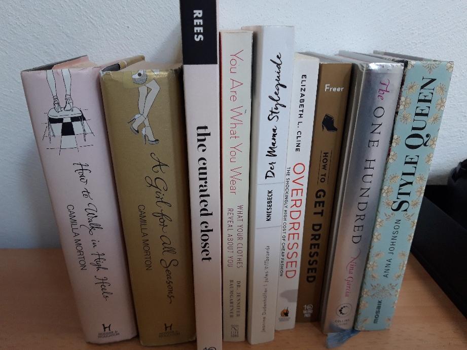 "My 'stylish' books...missing ""the conscious closet"""