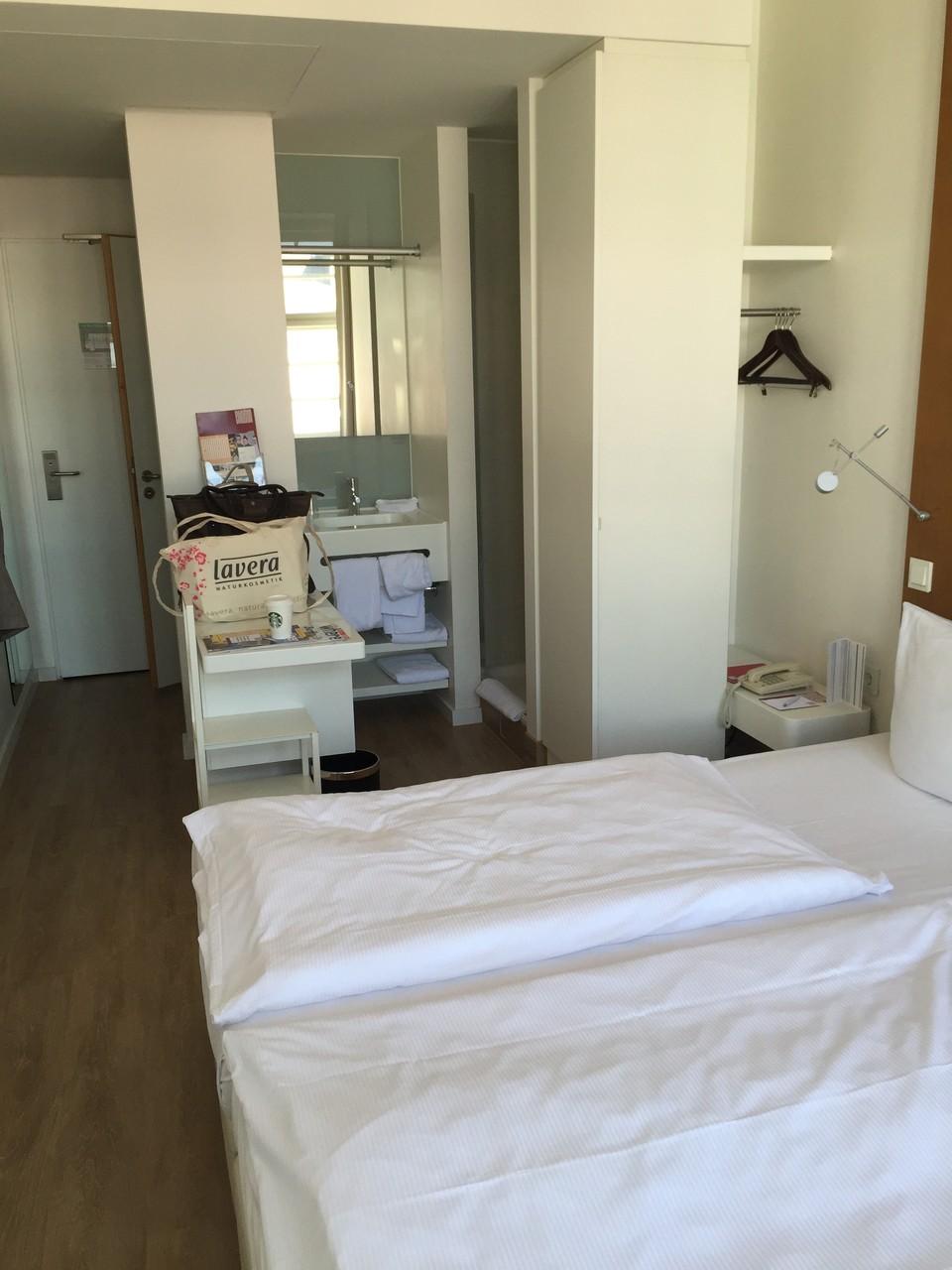 Einzelzimmer Ellington Hotel Berlin