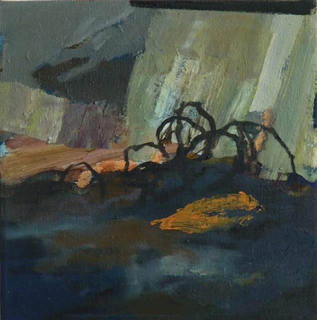 Tal 2012 30 x 30 cm Öl / Leinwand