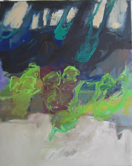 Erdreich 2010 50 x 40 cm Öl / Leinwand