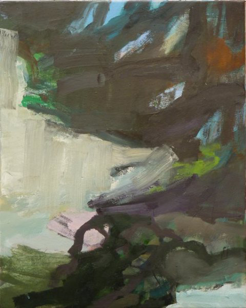 Massa del Canto 1 2011 50 x 40 cm Öl / Leinwand