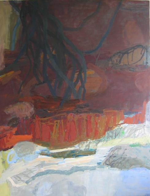 Einsicht 2010 170 x 130 cm Öl / Leinwand