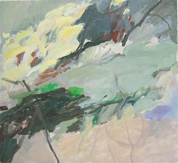 Mai 2009 55 x 60 cm Öl / Leinwand