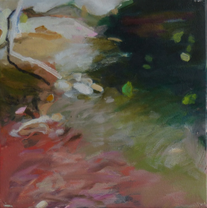 Skizze 2014 30 x 30 cm Öl / Leinwand