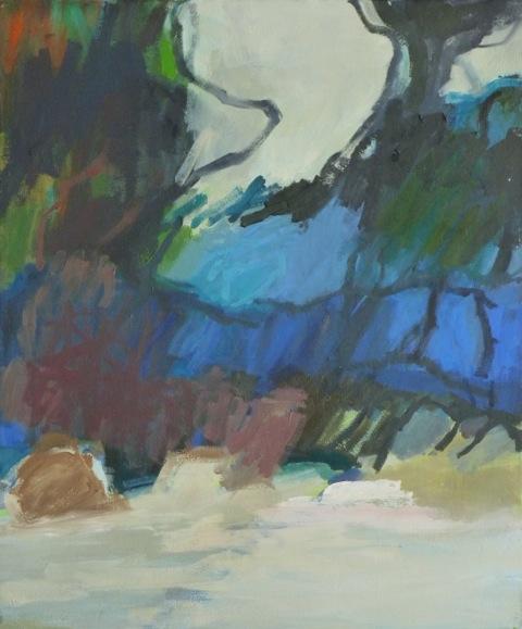 14.9.2012 2012 60 x 50 cm Öl / Leinwand