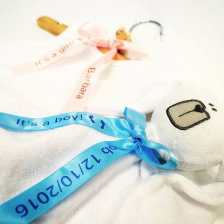 Geschenkband mit Ihrem Wunschtext