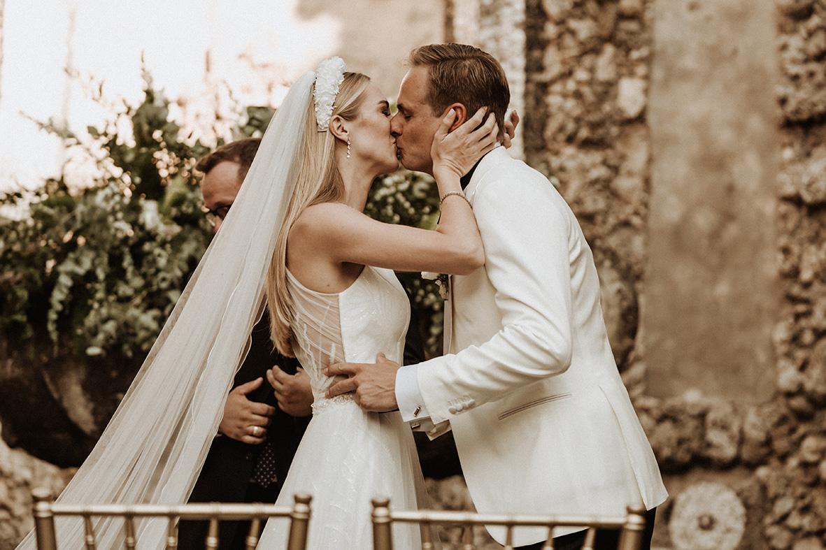 Chic & Elegant Wedding in der Villa Gamberaia, Florenz - Marco Fuß, Freier Trauredner