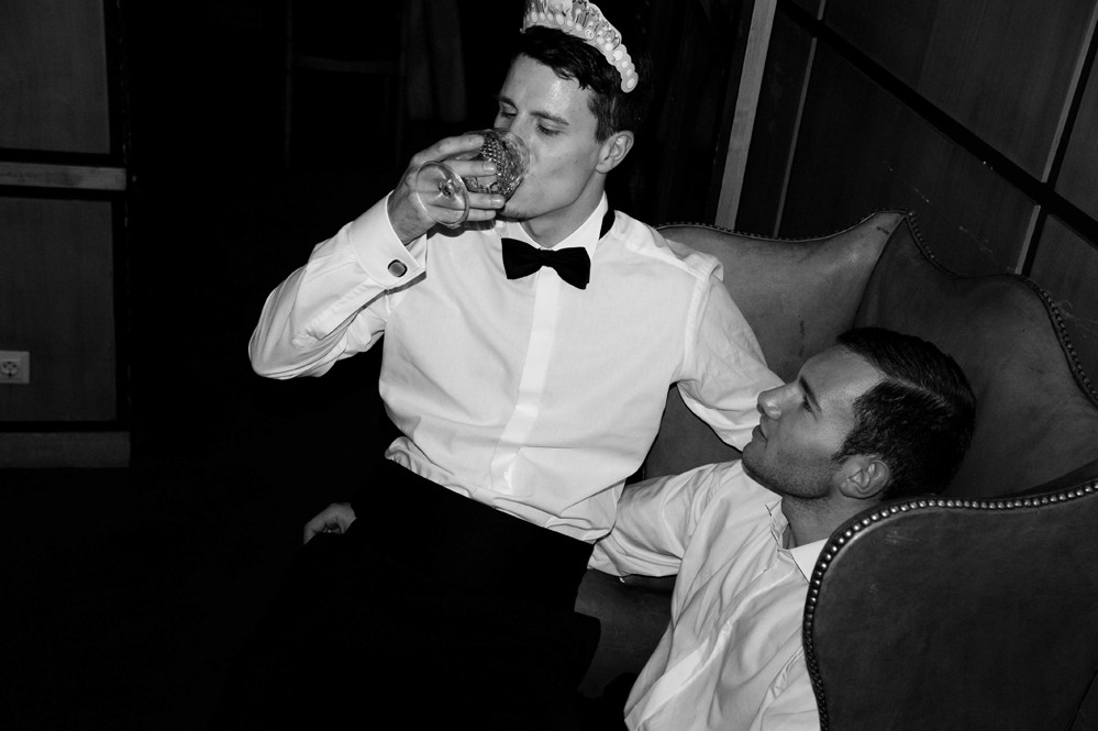 "Gay Wedding ""Two Married Men"" 