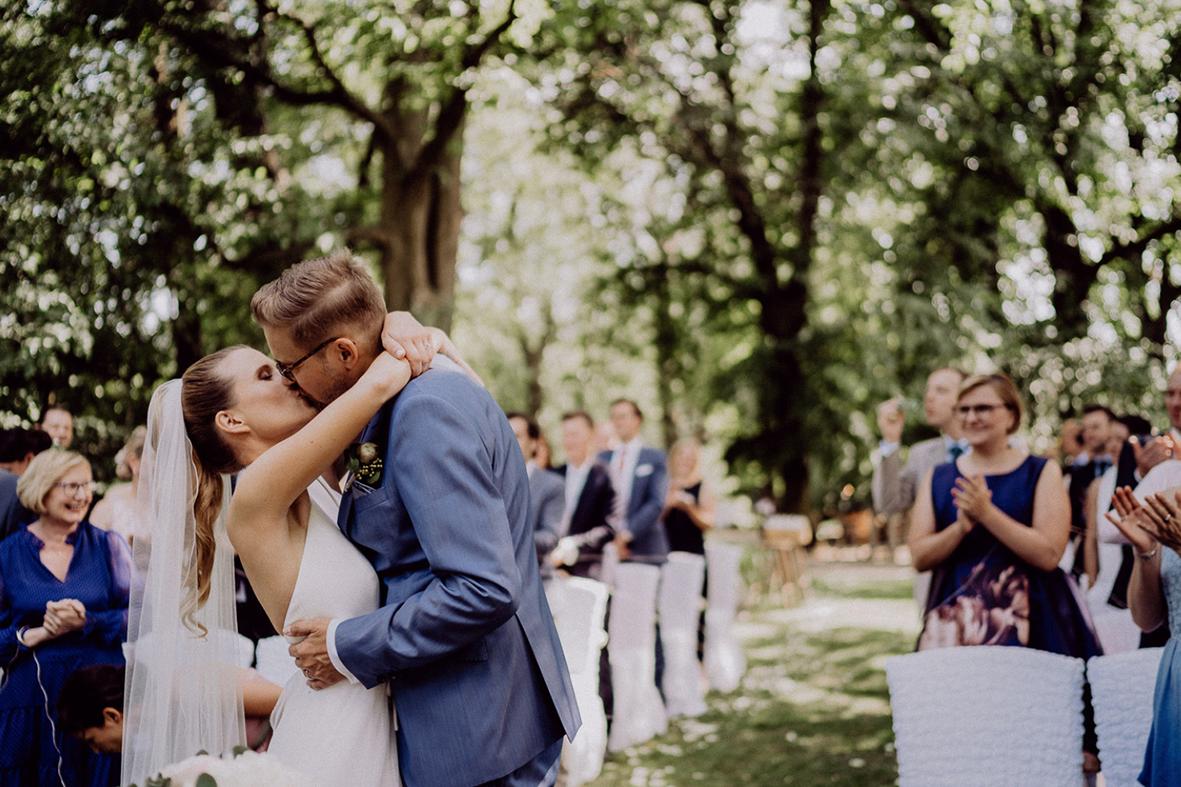 Romantic-Chic Wedding im Spreewald, Zur Bleiche Resort & Spa - Marco Fuß, Freier Trauredner
