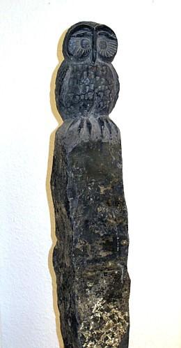 Eule auf Linzer Basalt